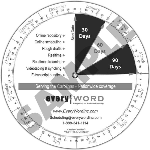 Styles - Circular Calendar - circular calendar