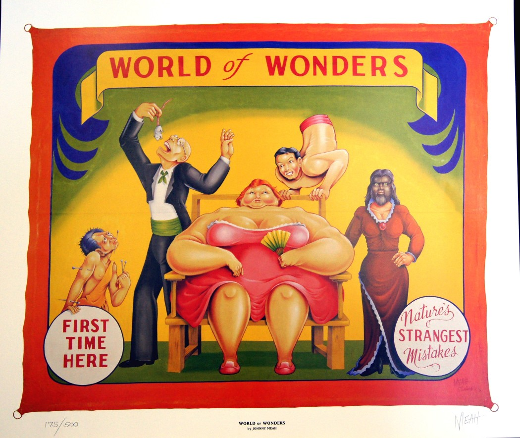 Poster Of The World Sideshow World Of Wonders Banner Limited Edition Print