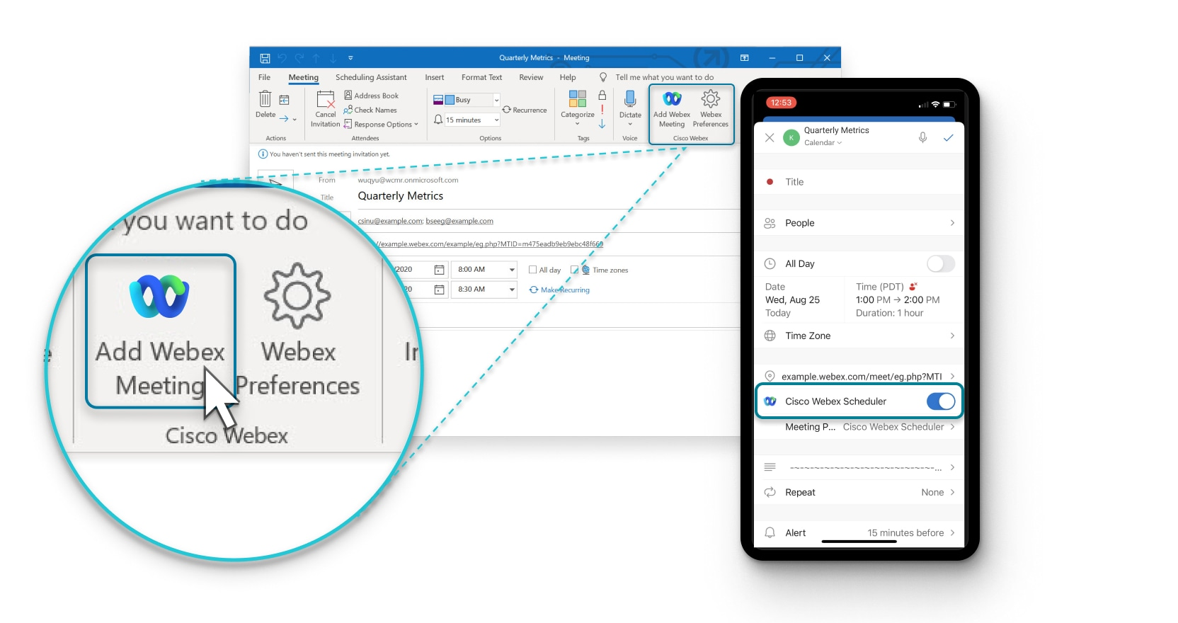 Microsoft Office Mac Fr Schedule And Join Meetings With Cisco Webex Meetings Scheduler For