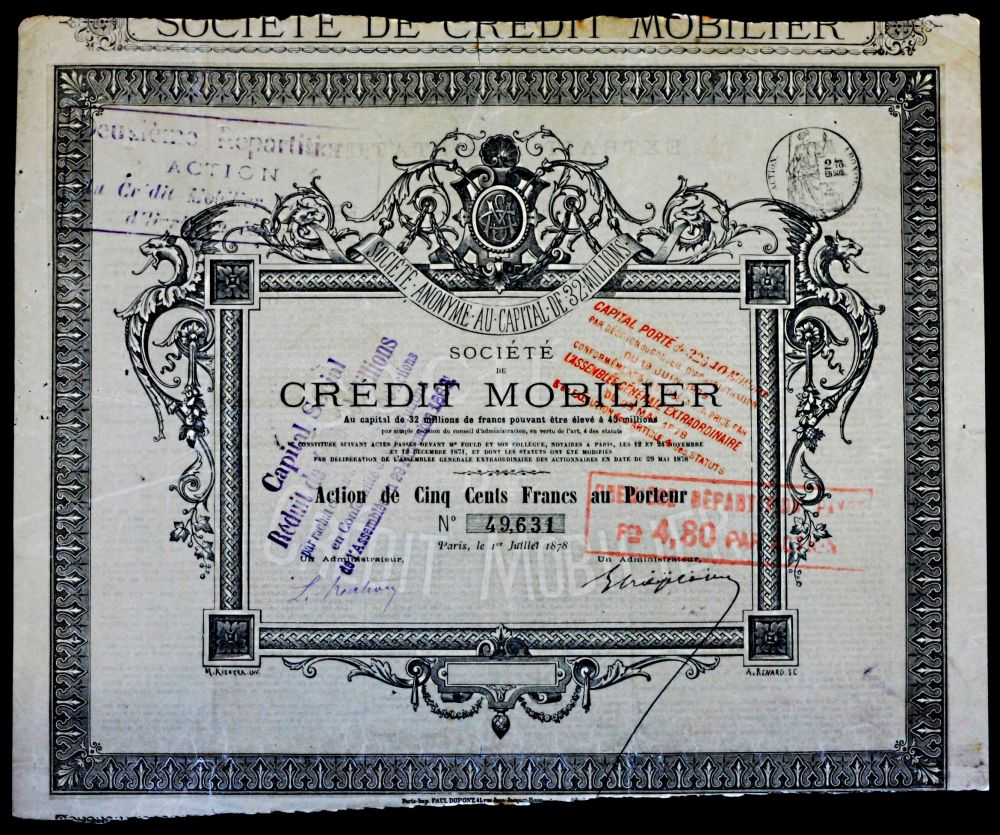 Mobilier France 10000 Years Of Economy Creation Of Large French Banks
