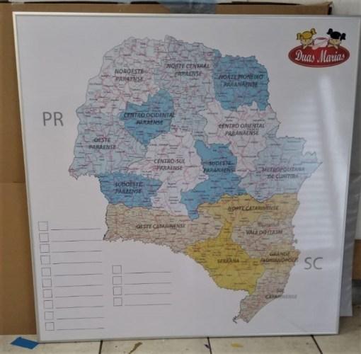 Mapa Mesorregiões