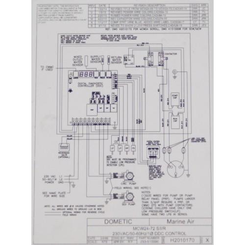 DOMETIC MCGX 24 TITAN Modular Titanium Chiller A/C (24,000 BTUs)