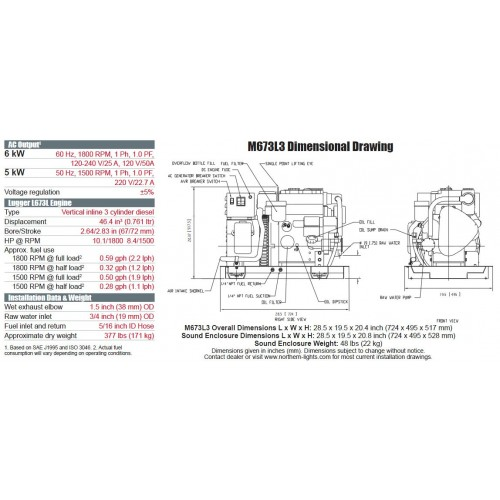 wiring diagram 5 kw northern lights