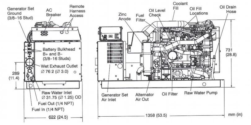 cummins diesel generator wiring diagram