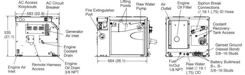 Wiring Diagram For Marine Onan Generator 6 5 Wiring Diagram