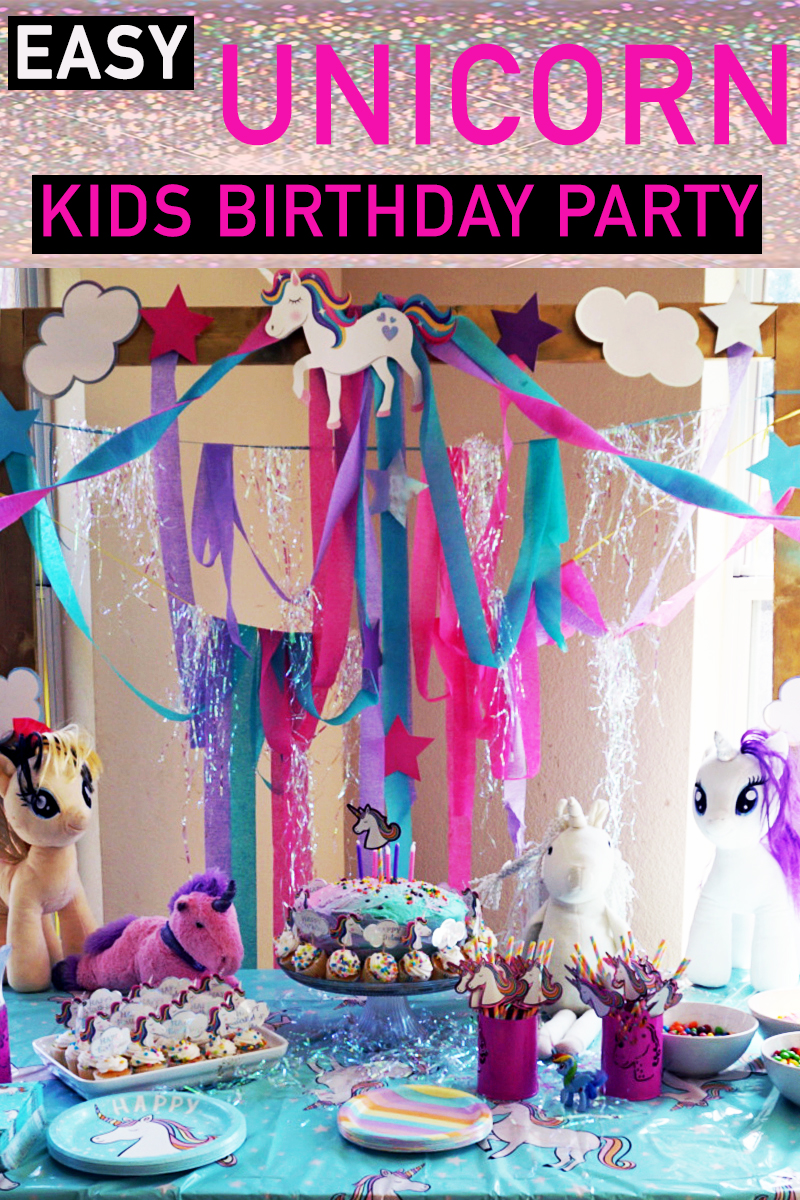 Little Kid Birthday Party Easy Unicorn Themed Birthday Party For Little Kids Copy Citizens