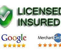 We are licensed and insured! Don't except Less.