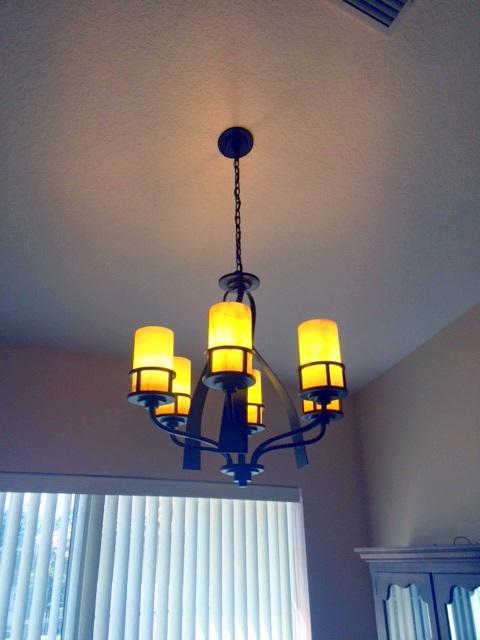 dining chandleir