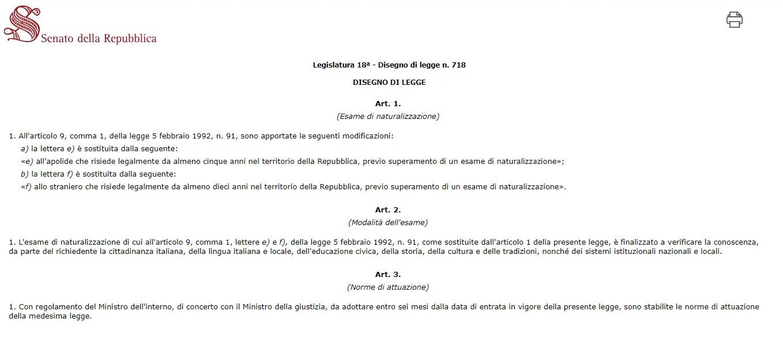 Test Lingua Italiana Per Carta Di Soggiorno