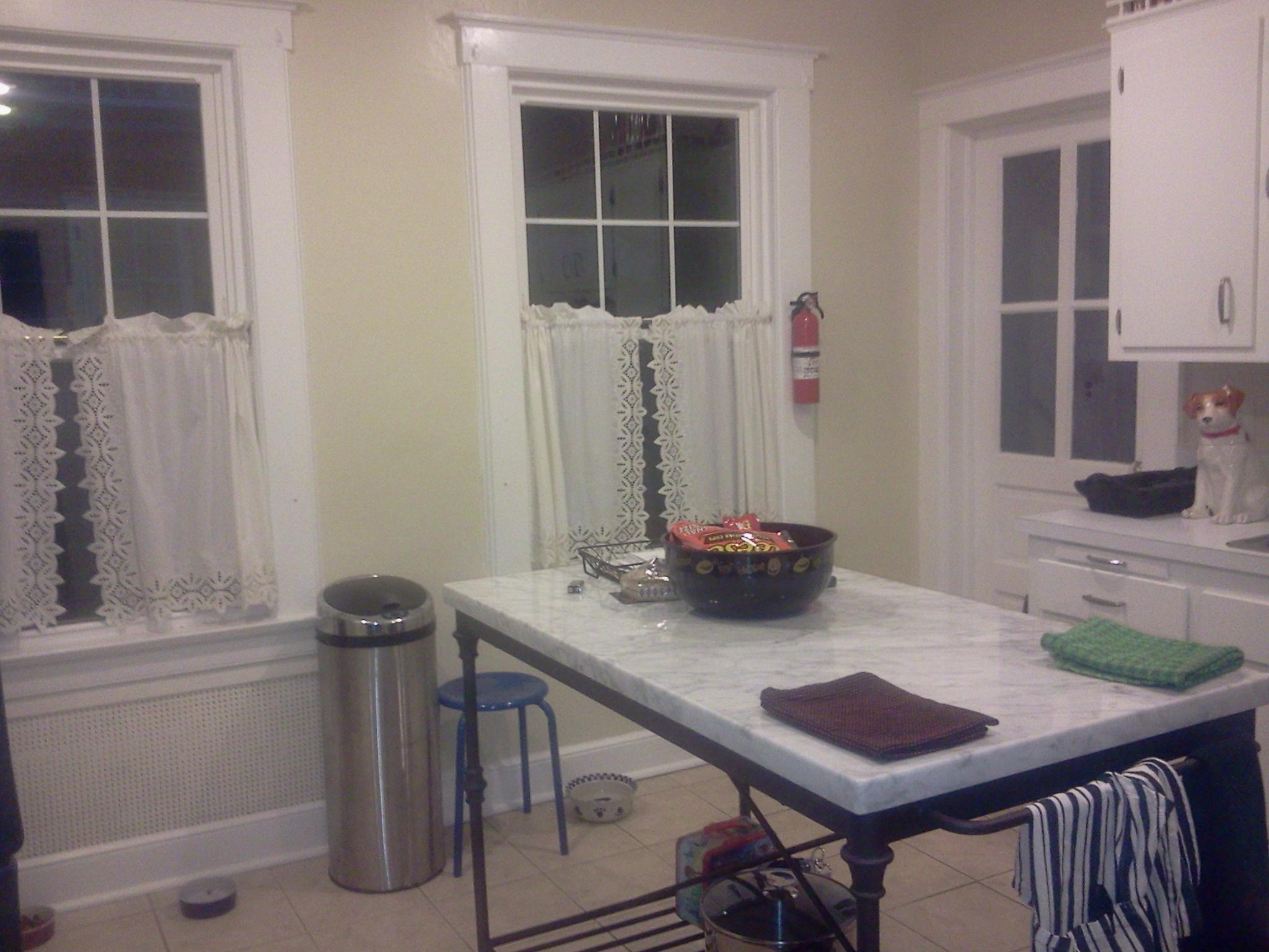tutorial paint fau subway tile backsplash sawdust painting kitchen backsplashes pictures ideas hgtv kitchen