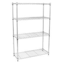 4/5 Tier Storage Rack Organizer Kitchen Shelving Steel ...