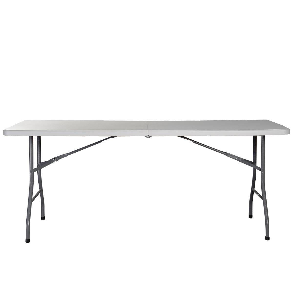 6 Ft Square Dining Table 6 Ft Portable Folding Table Outdoor Picnic Plastic Camping