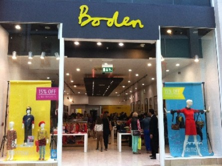 Boden Pop Up Shop