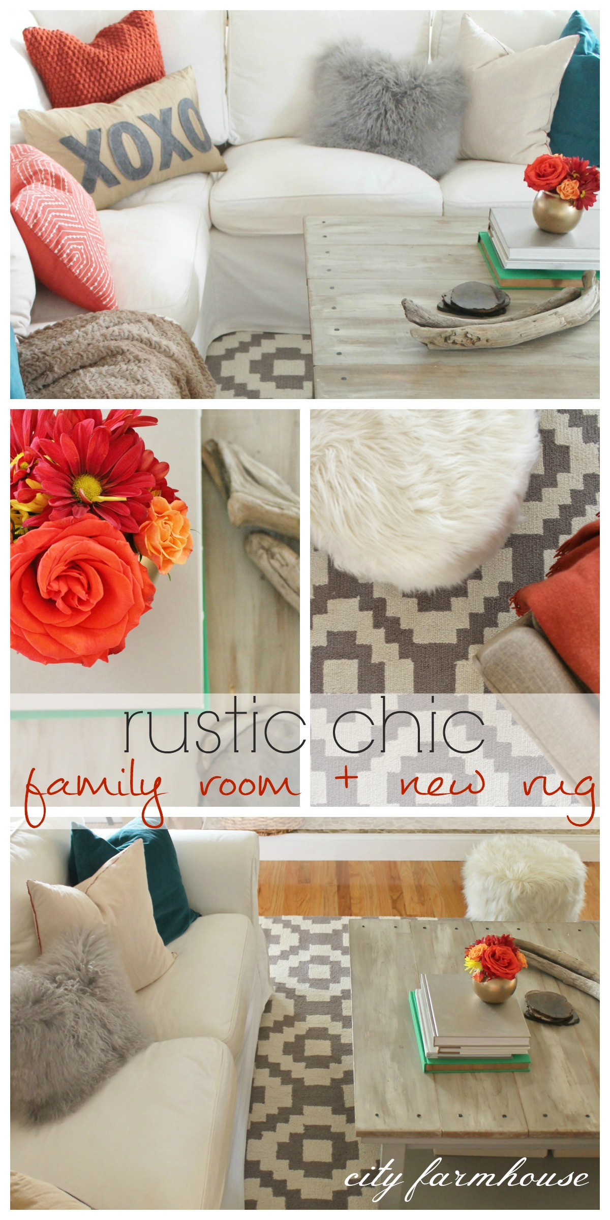Rustic Farmhouse Area Rugs Rustic Chic Family Room 43 New Rug City Farmhouse