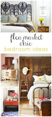 Flea Market Chic-Bedroom Ideas - interior design