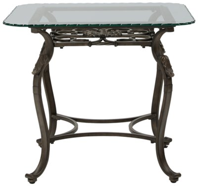 Square Glass End Tables Westcot2 Glass Square End Table
