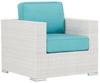 City Furniture: Biscayne Dark Teal Chair
