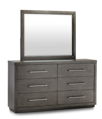 Furniture Toronto Com Toronto Dark Tone Wood Dresser Mirror Bedroom Dressers