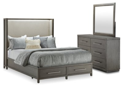 Furniture Toronto Com Toronto Dark Tone Uph Platform Storage Bedroom Bedroom Bedroom