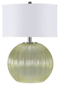 Urchin Green Table Lamp