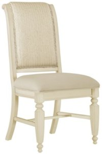 City Furniture: Claire White Woven Side Chair
