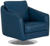 Navy Blue Reclining Sofa  TheSofa