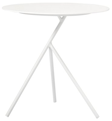 High Accent Tables City Furniture Ibiza White High Accent Table