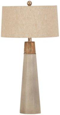 City Furniture: Rowan Beige Table Lamp