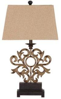 Addison Dark Beige Table Lamp