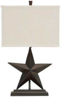 Star Bronze Table Lamp