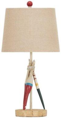 Bobber Beige Table Lamp