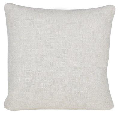 City Furniture Austin White Fabric Square Accent Pillow