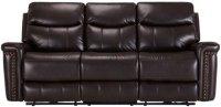 City Furniture: Wallace Dark Brown Microfiber Power ...