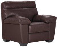 Devon Dark Brown Leather Chair