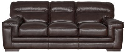 Dark Brown Couch Alexander Dark Brown Leather Sofa
