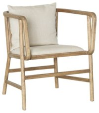 City Furniture: Frisch Taupe Fabric Accent Chair