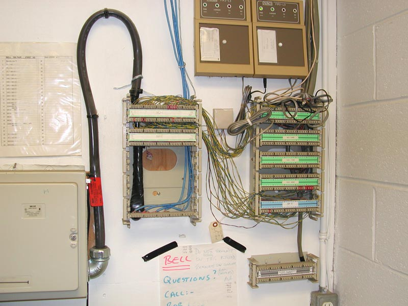 Corning Telephone Work Interface Box Wiring Likewise Old Phone