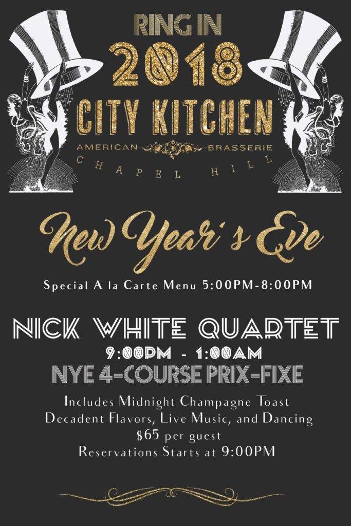 Ring in the New Year with City Kitchen! \u2013 CITY KITCHEN