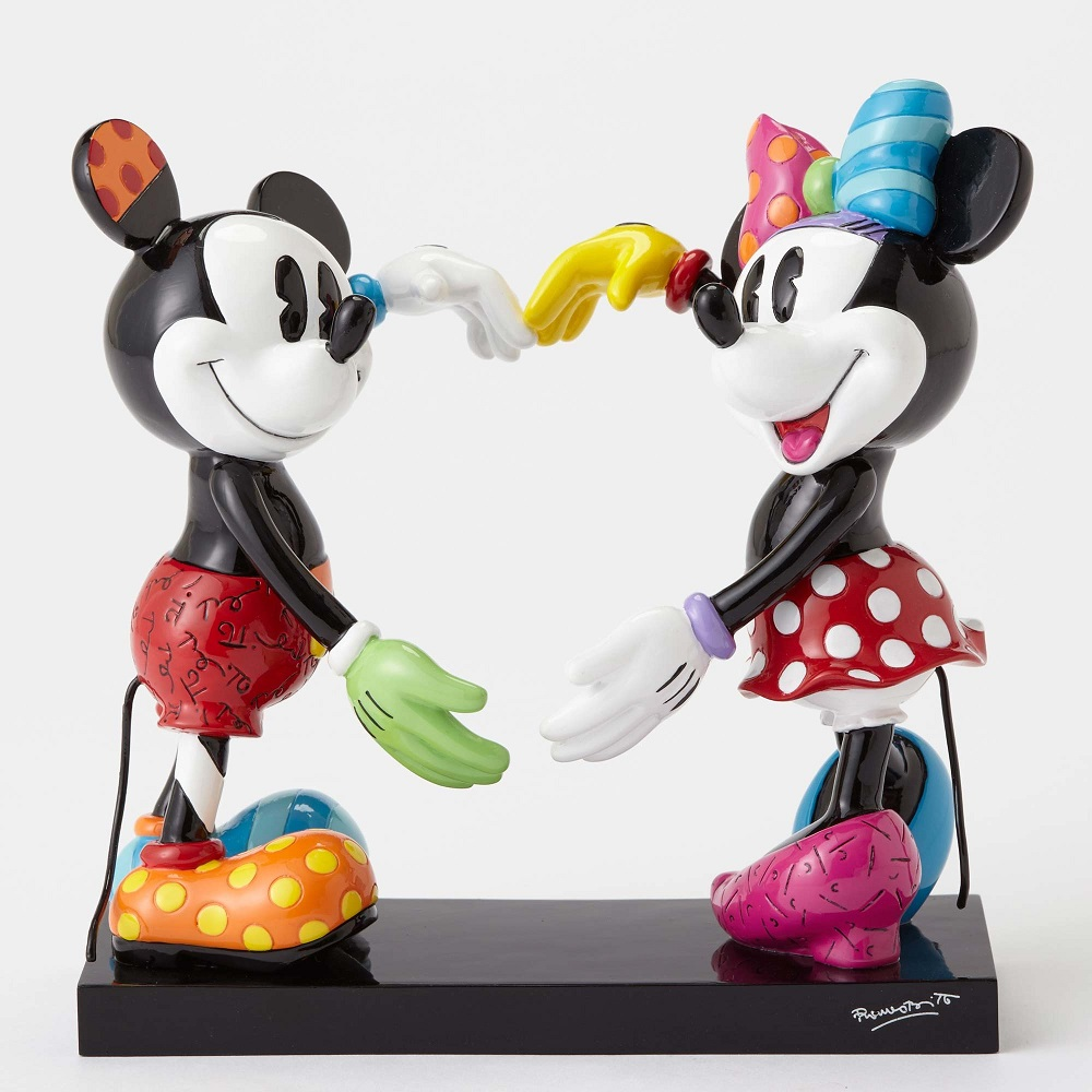 Disney Mickey Mickey And Minnie Forming Heart