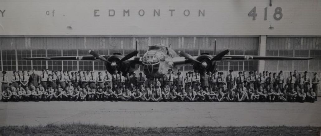 The 418 Research by Lech Lebiedowski, source of photographs Alberta Aviation Museum and 418 Squadron Archives