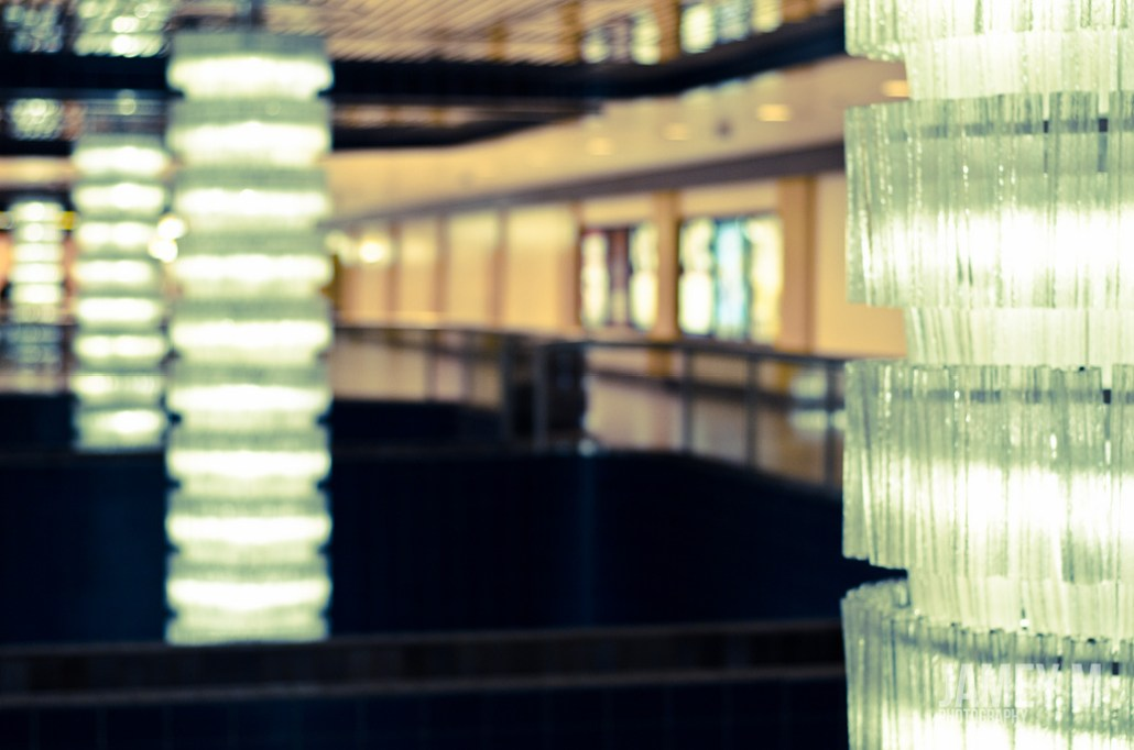 Corona LRT chandeliers. Jamey M. Photography.