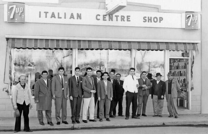Italian Centre Shop. Image courtesy of Teresa Spinelli, Italian Centre Shop, supplied by Adriana A. Davies