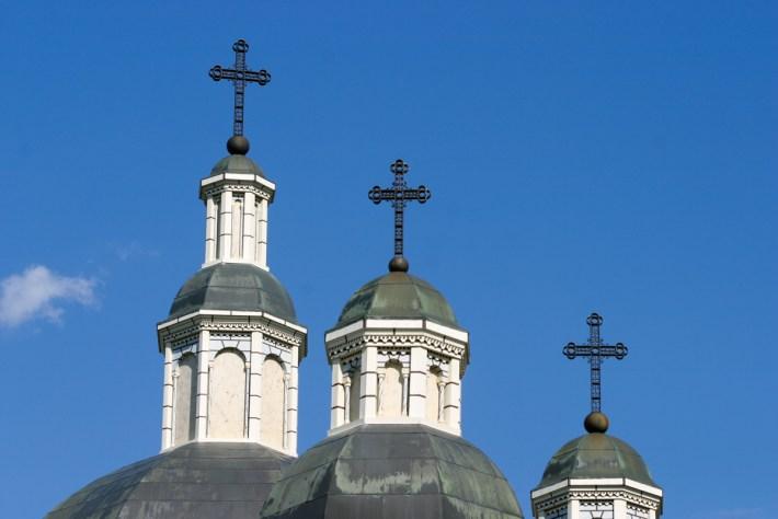 St. Josaphat's Cathedral. Image © 2006 Lawrence Herzog