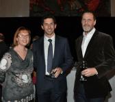 Cathy Pilgrim, Ryan Stokes and Andrew Donaldson