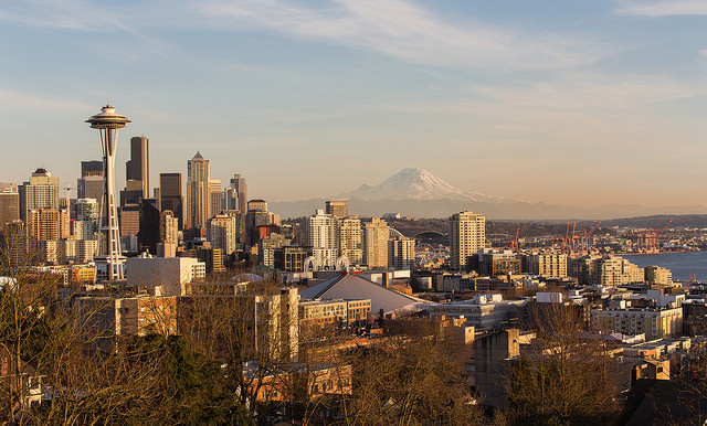 Seattle ranks as one of the most mobility-friendly metropolitan areas. Credit: Jonathan Miske, Flickr