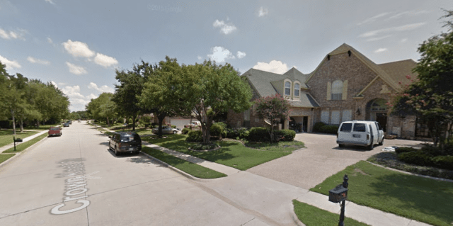 Flower Mound, TX. Credit: Google Maps