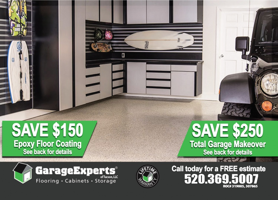 Garage Epoxy Tucson Garage Experts