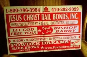 Jesus Christ Bail Bonds