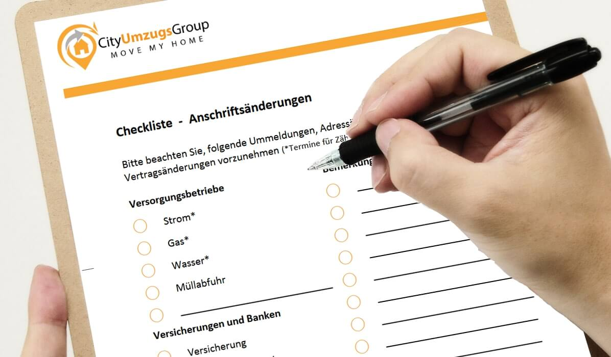 Checkliste Wohnungsbesichtigung Checklisten ▻ Formulare Download | Cityumzugsgroup