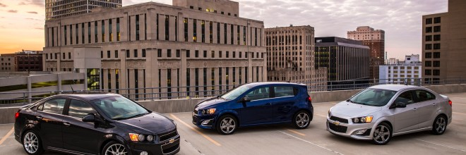 2014 Chevrolet Sonic Family Shot